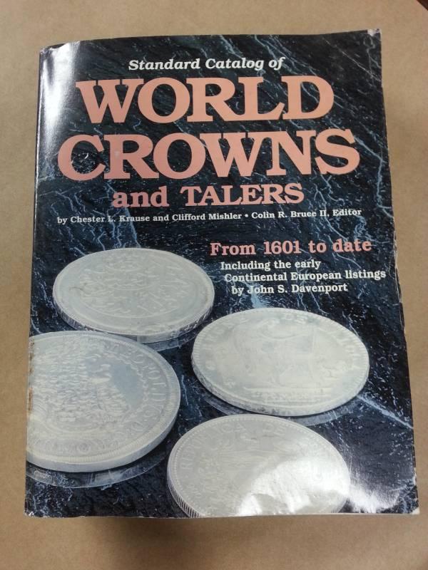 Catálogo World Crowns and Talers  (USADO)  - Numismática Vieira