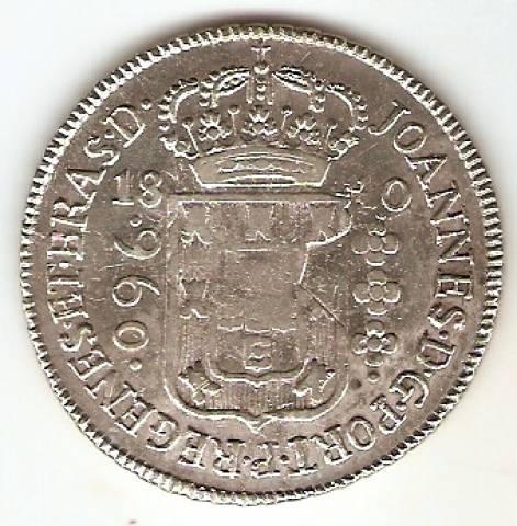 Catálogo Vieira Nº 311 - 960 Réis (REGENES) - Numismática Vieira