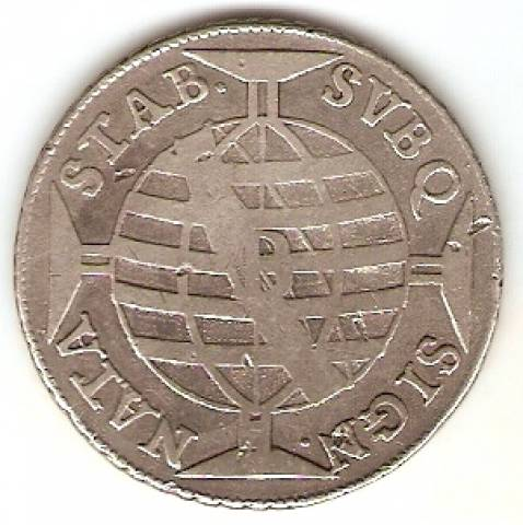 Catálogo Vieira Nº 078  640 Réis - Numismática Vieira