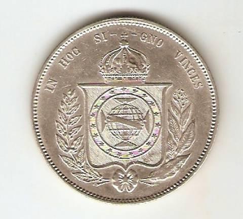 Catálogo Vieira Nº 456 - 2000 Réis - Numismática Vieira