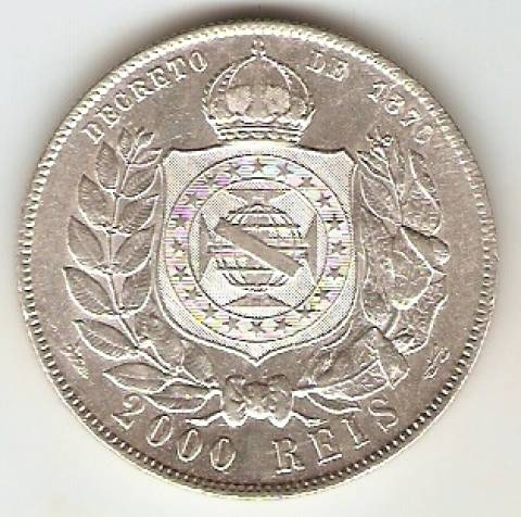 Catálogo Vieira Nº 522 - 2000 Réis - Numismática Vieira