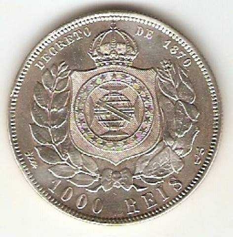 Catálogo Vieira Nº 535 - 1000 Réis - Numismática Vieira