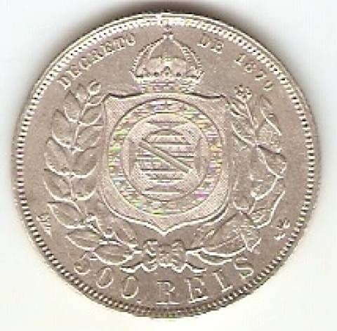 Catálogo Vieira Nº 540 - 500 Réis - Numismática Vieira
