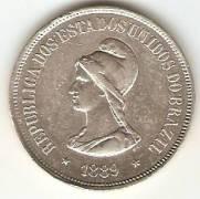 Catálogo Vieira Nº 542 - 1000 Réis | Numismática Vieira