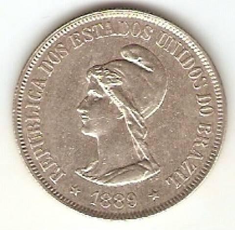 Catálogo Vieira Nº 543 - 500 Réis - Numismática Vieira