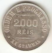Catálogo Vieira Nº 552 - 2000 Réis | Numismática Vieira