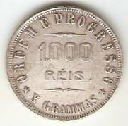 Catálogo Vieira Nº 557 - 1000 Réis | Numismática Vieira