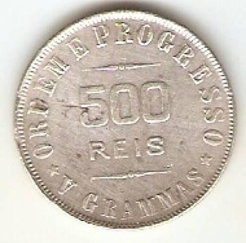 Catálogo Vieira Nº 564 - 500 Réis - Numismática Vieira