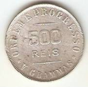 Catálogo Vieira Nº 564 - 500 Réis | Numismática Vieira