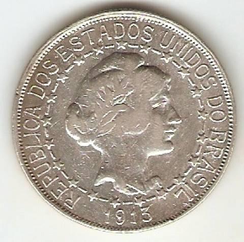 Catálogo Vieira Nº 570 - 2000 Réis (Estrela Ligada - 1913) - Numismática Vieira