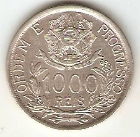Catálogo Vieira Nº 572 - 1000 Réis  (Estrela Ligada) - Numismática Vieira