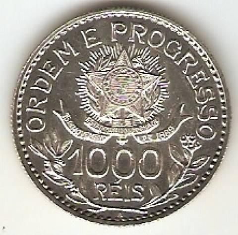 Catálogo Vieira Nº 575 - 1000 Réis (Estrela Solta) - Numismática Vieira