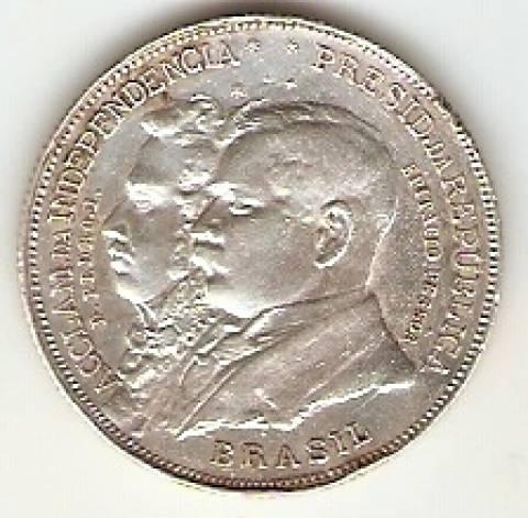 Catálogo Vieira Nº 577 - 2000 Réis (Comemorativa ao 1º Cent. da Independência do Brasil) - Numismática Vieira