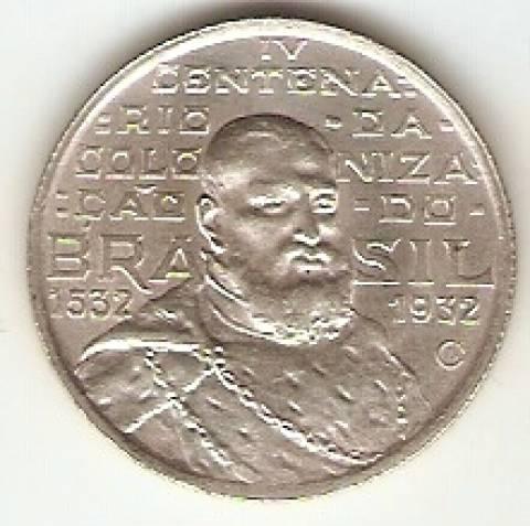 Catálogo Vieira Nº 587 - 2000 Réis (Comemorativa ao 4º Cent. de São Vicente) - Numismática Vieira