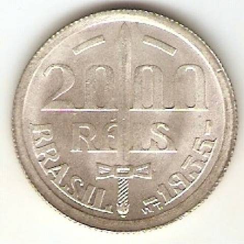 Catálogo Vieira Nº 588 - 2.000 Réis (Duque de Caxias) - Numismática Vieira