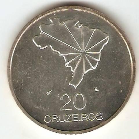 Catálogo Vieira Nº 592 - 20 Cruzeiros  - Numismática Vieira
