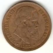 Catálogo Vieira Nº 1 - 40 Réis (Bronze)
