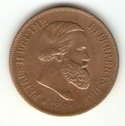 Catálogo Vieira Nº 10 - 20 Réis (Bronze) - Numismática Vieira