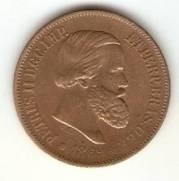 Catálogo Vieira Nº 10 - 20 Réis (Bronze)