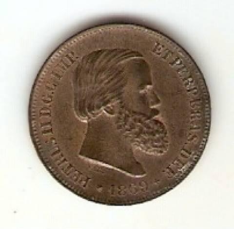 Catálogo Vieira Nº 13 - 10 Réis (Bronze)