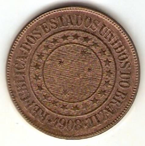 Catálogo Vieira Nº 25 - 40 Réis (Bronze) - Numismática Vieira