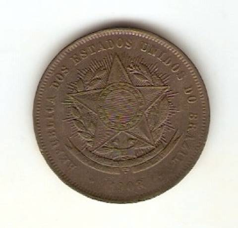 Catálogo Vieira Nº 43 - 20 Réis (Bronze) - Numismática Vieira
