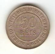 Catálogo Vieira Nº 2 - 50 Réis (Níquel)