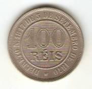 Catálogo Vieira Nº 21 - 100 Réis (Níquel) | Numismática Vieira