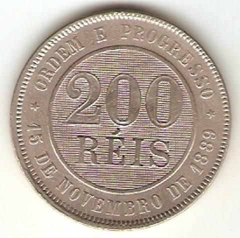 Catálogo Vieira Nº 36 - 200 Réis (República) (Níquel) - Numismática Vieira