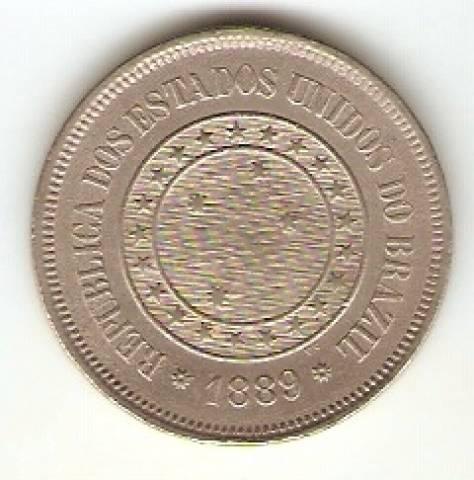 Catálogo Vieira Nº 45 - 100 Réis (República) (Níquel) - Numismática Vieira