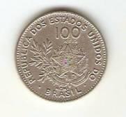 Catálogo Vieira Nº 54 - 100 Réis (Níquel)