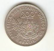 Catálogo Vieira Nº 55 - 200 Réis (Níquel)