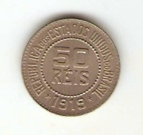 Catálogo Vieira Nº 65 - 50 Réis (Níquel) - Numismática Vieira