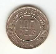 Catálogo Vieira Nº 89 - 100 Réis (Níquel)