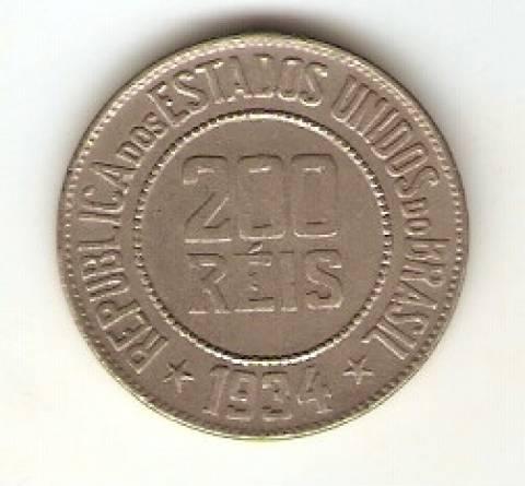 Catálogo Vieira Nº 107 - 200 Réis (Níquel) - Numismática Vieira
