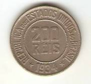 Catálogo Vieira Nº 107 - 200 Réis (Níquel)