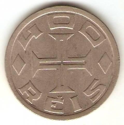Catálogo Vieira Nº 123 - 400 Réis (Série Vicentina - Mapa do Brasil) (Niquel) - Numismática Vieira
