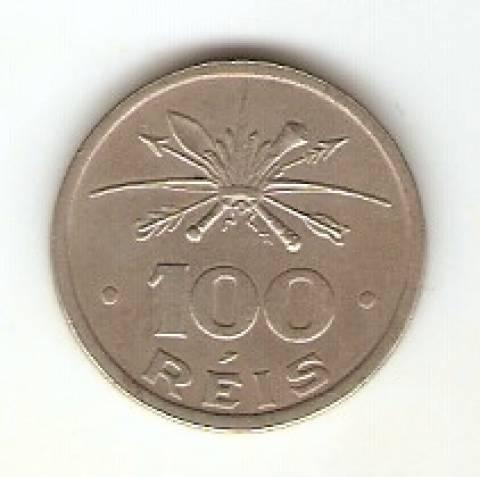 Catálogo Vieira Nº 125 - 100 Réis (Série Vicentina - Índio) (Níquel) - Numismática Vieira