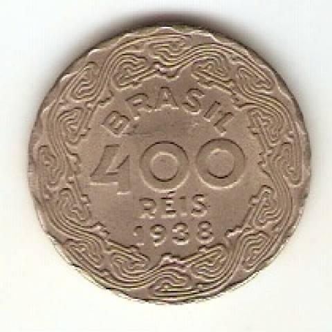 Catálogo Vieira Nº 138 - 400 Réis (Getúlio Vargas) (Níquel) - Numismática Vieira
