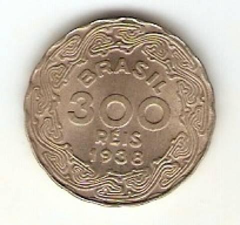 Catálogo Vieira Nº 141 - 300 Réis (Getúlio Vargas) (Níquel) - Numismática Vieira
