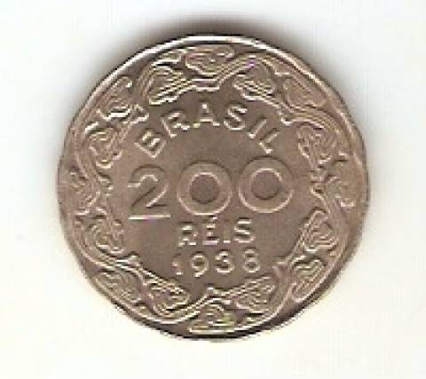 Catálogo Vieira Nº 144 - 200 Réis (Getúlio Vargas) (Níquel) - Numismática Vieira