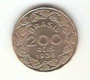 Catálogo Vieira Nº 144 - 200 Réis (Getúlio Vargas) (Níquel)