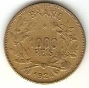 Catálogo Vieira Nº 3 - 1000 Réis (Símbolo da Fortuna)