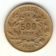 Catálogo Vieira Nº 12 - 500 Réis (Símbolo da Fortuna) | Numismática Vieira