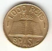 Catálogo Vieira Nº 22 - 1000 Réis (Brasileiros Ilustres) (Padre José de Anchieta) | Numismática Vieira