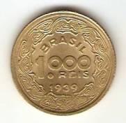 Catálogo Vieira Nº 28 - 1000 Réis (Brasileiros Ilustres) (Tobias Barreto) | Numismática Vieira