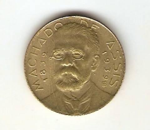Catálogo Vieira Nº 29 - 500 Réis (Brasileiros Ilustres) (Machado de Assis) - Numismática Vieira