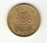 Catalogo Vieira No 29   500 Reis Brasileiros Ilustres Machado de Assis
