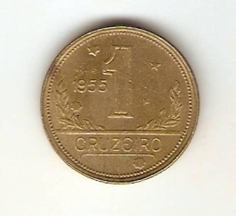 Catálogo Vieira Nº 29 - 1 Cruzeiro (Mapa do Brasil) - Numismática Vieira
