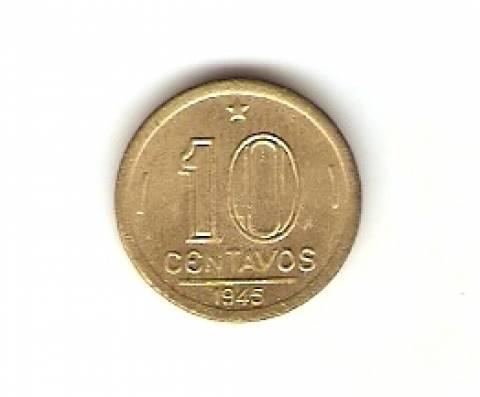 Catálogo Vieira Nº 65 - 10 Centavos (Getúlio Vargas)
